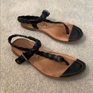 Pikolinos T-strap Sandals Sz 8